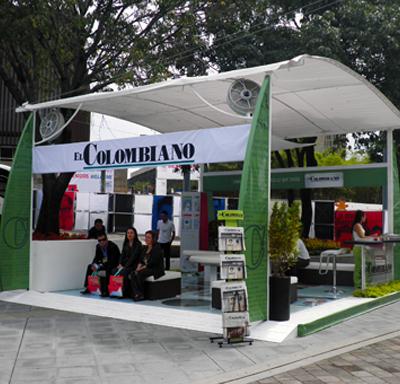 Diseño Stand ColombiaModa