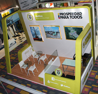 Diseño Stands Cartagena